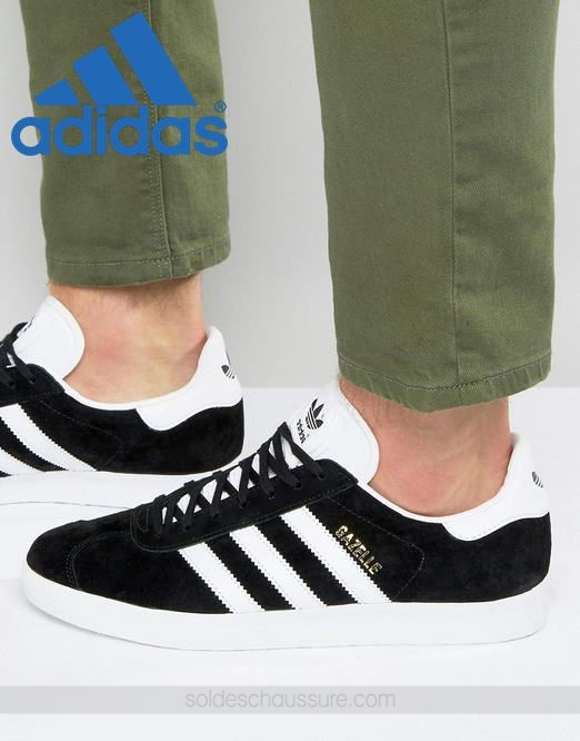 Adidas Originals Gazelle Noir & [Adidas Site Officiel] - Adidas Originals Gazelle Noir & [Adidas Site Officiel]-01-0